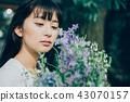 花生活女性肖像 43070157