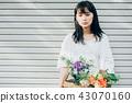 꽃이있는 생활 여성 인물 43070160
