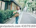 꽃이있는 생활 여성 인물 43070169