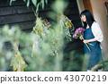花店的一名妇女 43070219