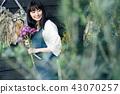 花店的一名妇女 43070257