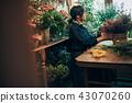 花店的一名婦女 43070260