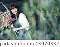 花店的一名妇女 43070332