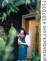 花店的一名妇女 43070351