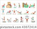 健康 适当 健身 43072414