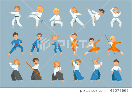 Kids On Martial Arts Training 43072665