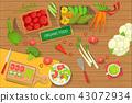 cooking, vegetables, fresh 43072934