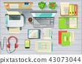 workplace, desk, office 43073044