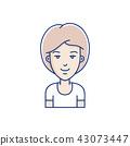face vector person 43073447
