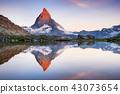 山峰 马特 湖泊 43073654