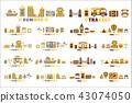 travel, icons, symbol 43074050