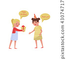 girl, present, Birthday 43074717