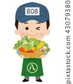 Greengrocer men 43079380