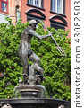 Neptune Fountain in Gdansk 43082503