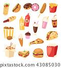 食物 食品 汉堡 43085030