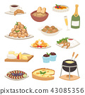 French cuisine traditional food delicious meal healthy dinner lunch continental Frenchman gourmet 43085356