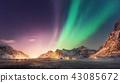 aurora, northern, lights 43085672