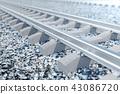 railroad, railway, rail 43086720