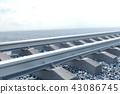railroad, railway, rail 43086745