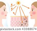 UV protection women 43088674