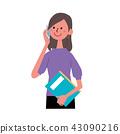 數字動畫 醫療插圖 動畫的 43090216