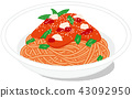 番茄醬意大利面 43092950