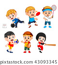 Team sports for kids  43093345