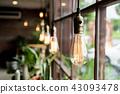 Beautiful light lamp decoration 43093478