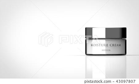 Basic cosmetics cream logo Yes Left copy space 43097807