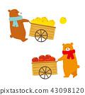 收穫秋天熊例證 43098120