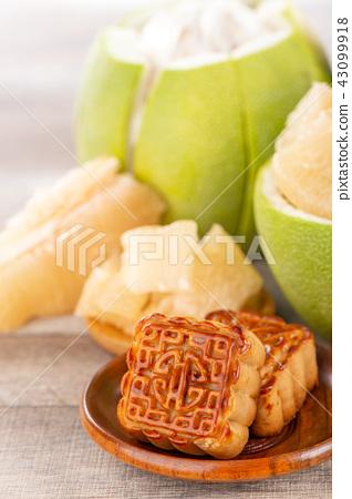 柚子文旦中秋月餅柚子月餅柚子文旦月餅茶 43099918