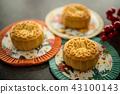Mooncakes on Mid-Autumn Festival lanterns 43100143