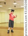 孩子們跳舞的形象 43100208