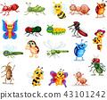 bug, butterfly, caterpillar 43101242