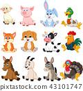 Farm animal collection set 43101747