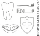 mouth oral teeth 43103567
