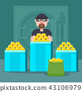 thief, crime, robber 43106979