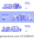 Brewery, Beer Festival and Beer Craft Banners 43108644