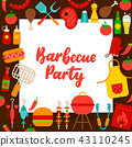 party, barbecue, concept 43110245
