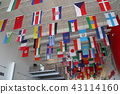 Ten thousand national flag (Seattle's Boeing factory) 43114160