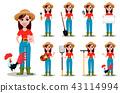 farmer female woman 43114994