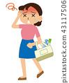 熱中症対策のイラスト 43117506