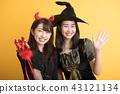 萬聖節角色扮演派對婦女協會女巫 43121134