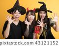 萬聖節角色扮演派對婦女協會女巫 43121152