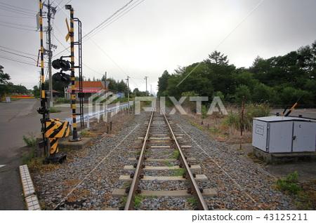 Railway track of the JR railway highest point 43125211