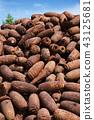 Stacked rusty rocket bombs 43125681
