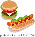 อาหารฟาสท์ฟูด,เบอร์เกอร์,อาหารฝรั่ง 43128754