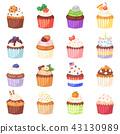 컵케이크, 케이크, 제과점 43130989