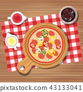 cooking food pizza 43133041