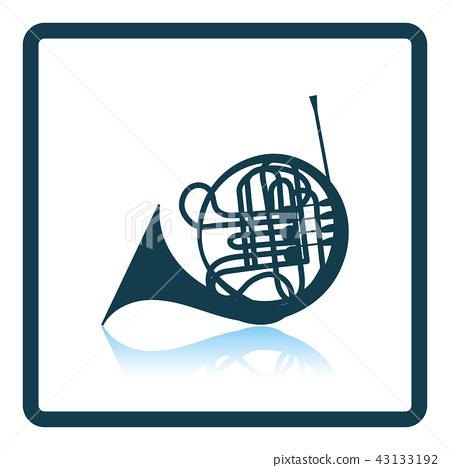 Horn icon 43133192